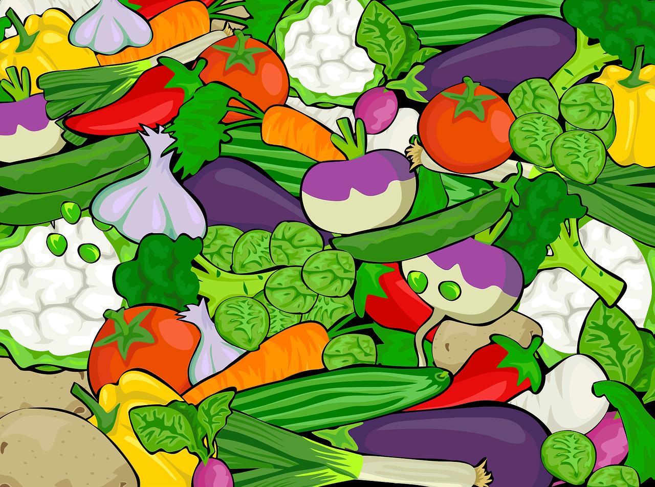 Hádanky o ovocí a zelenine