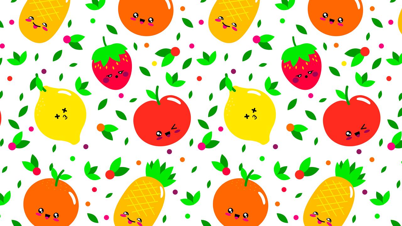 Veselé básničky o ovocí