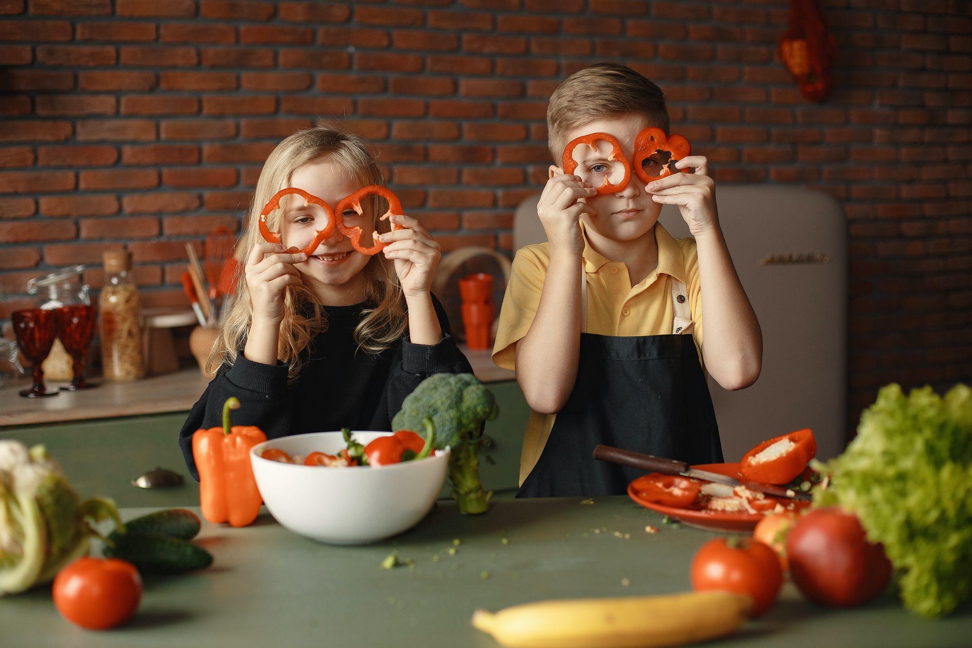 Básničky o ovocí a zelenine, ktoré pobavia celú rodinu