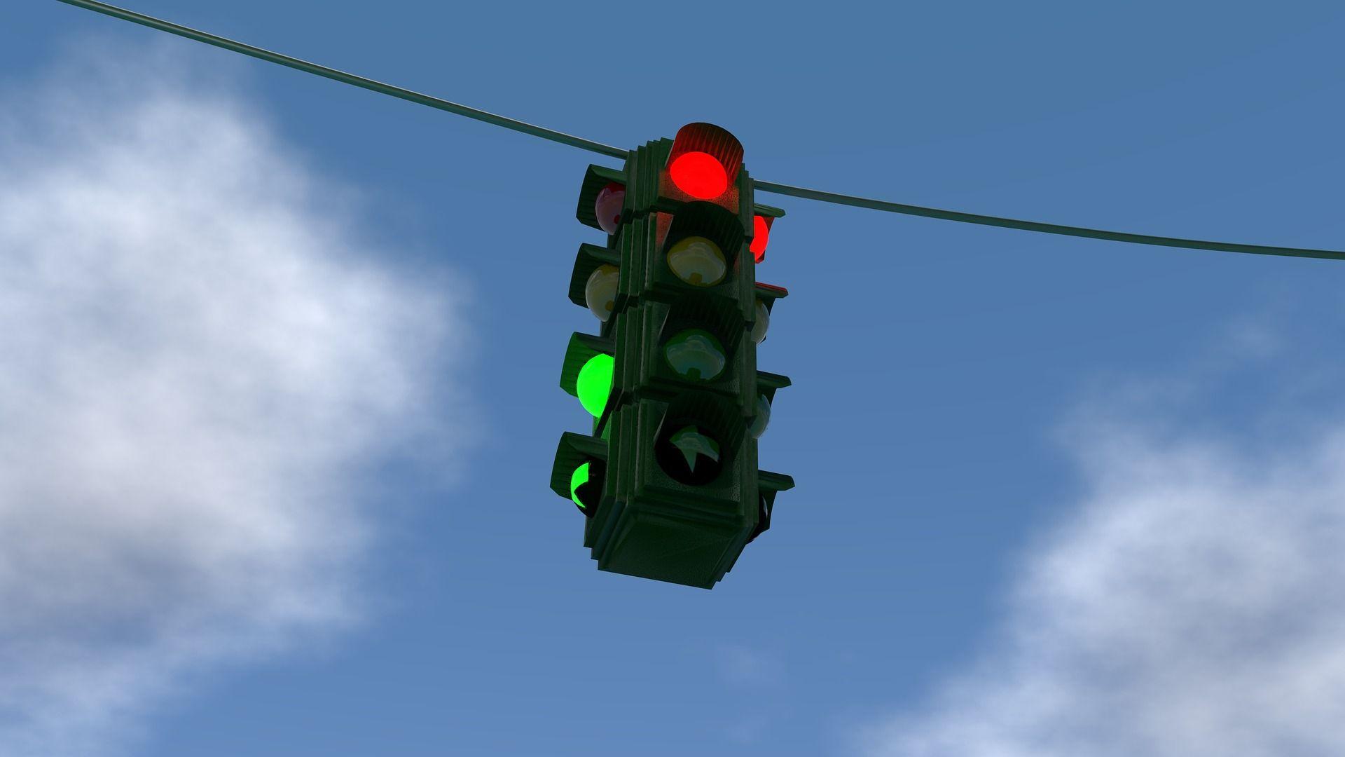 Naučte deti, ako to chodí na križovatke: 5 zábavných básničiek o semafóre