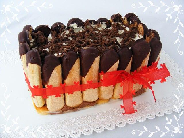 Skvelá gaštanová nepečená torta