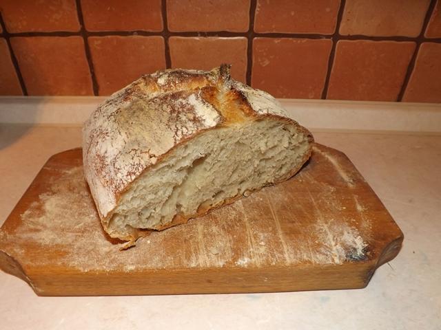 Fantastický chlieb bez miesenia a bez váženia