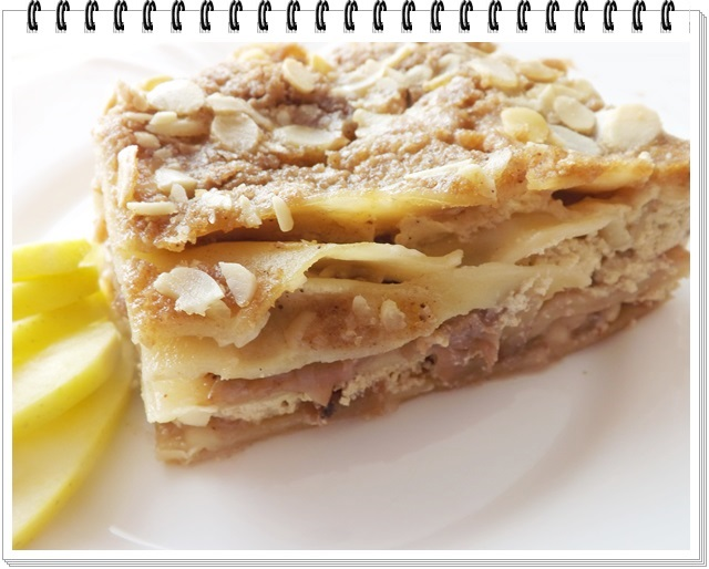 Jablkové lasagne