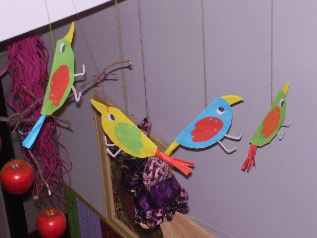 Veselí vtáčkovia