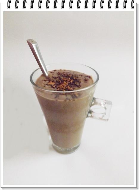 Avokádovo-karobové kakao
