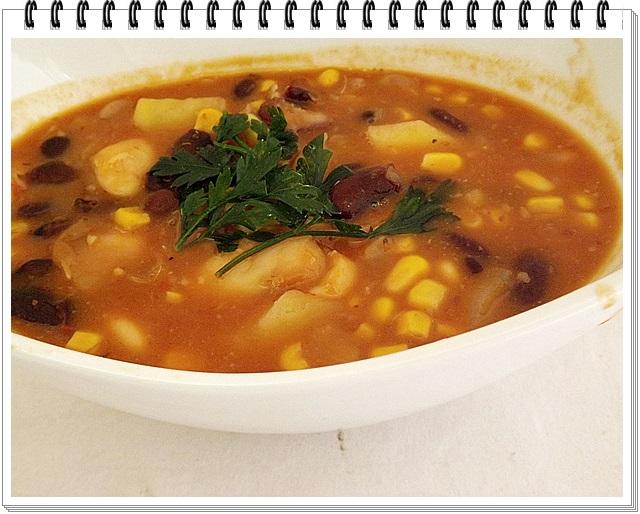 Expresne rýchla chilli polievka