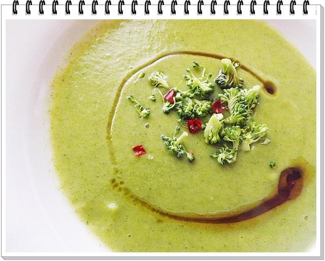 Brokolicovo-tekvicová polievka