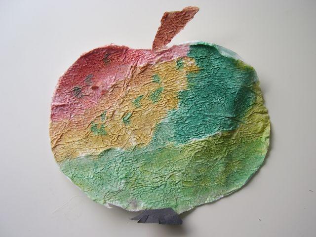 Jablko zo servítky