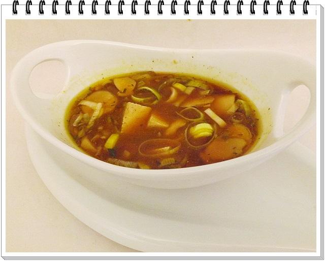Miso polievka s tofu