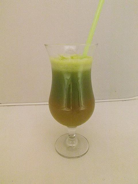 Žlto-zelené smoothie
