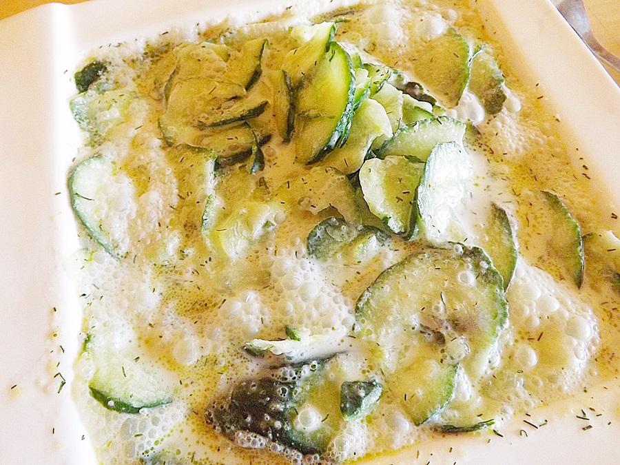 Uhorková polievka s kôprom