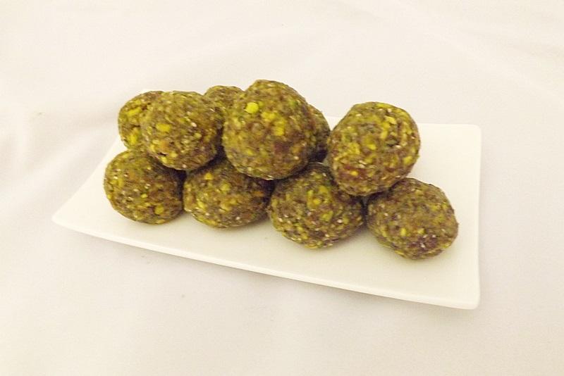 Matcha-pistáciové truffle