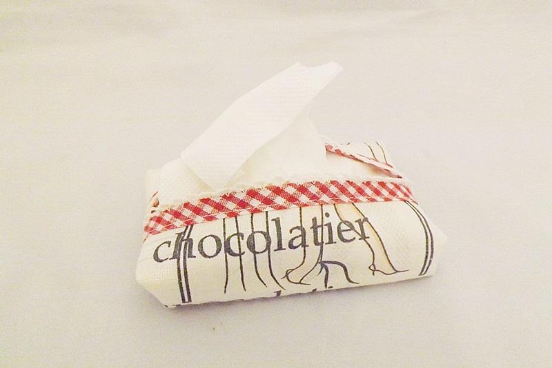 Vyrobte si prenosný obal na papierové vreckovky