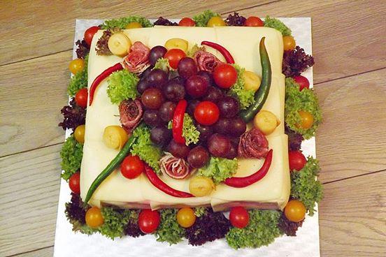Slaná torta