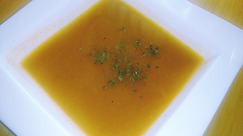 Tekvicová krémová vegan polievka