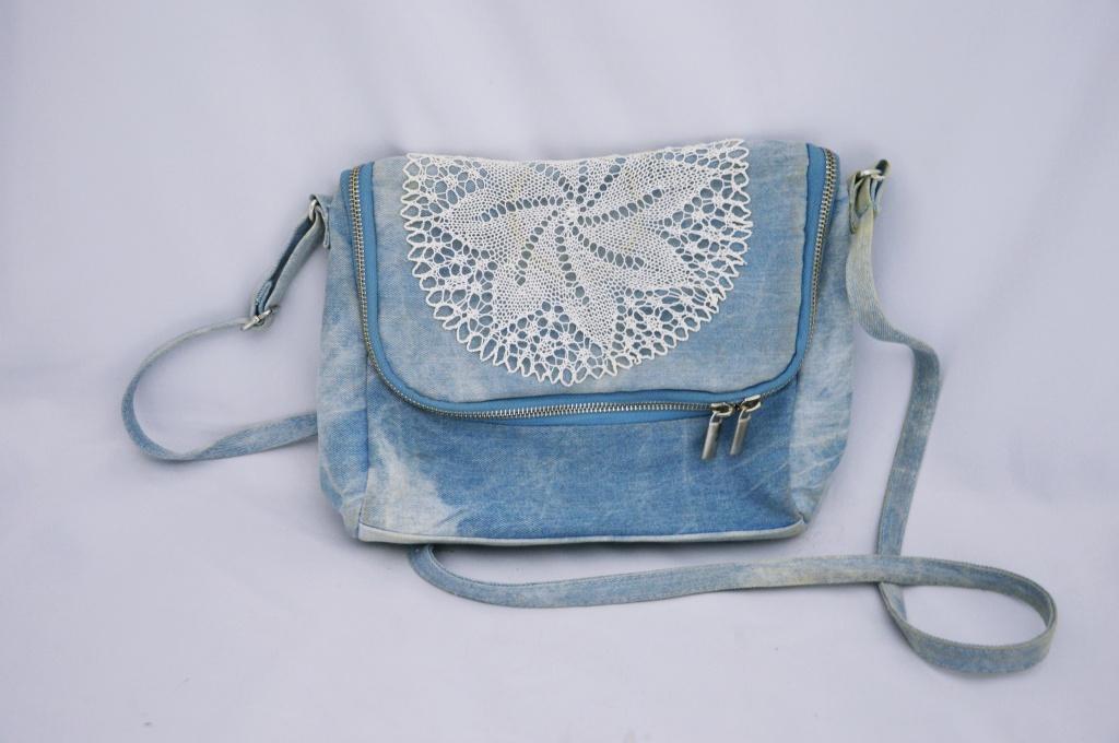 Čipkovaná kabelka