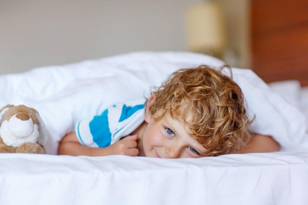 Aký detský matrac do postele? Váš potomok môže  spať ako vo vatičke, a navyše zdravo
