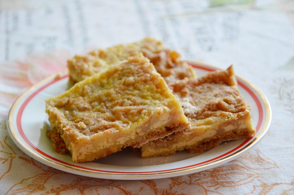 Sypaný tofu vegan koláč