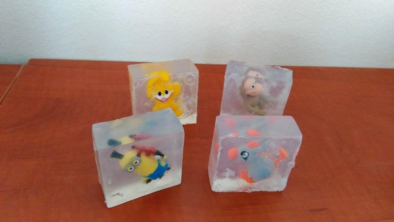 Domáce mydlo pre deti