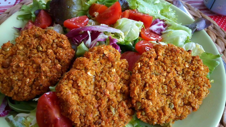 Domáce vegánske burgery