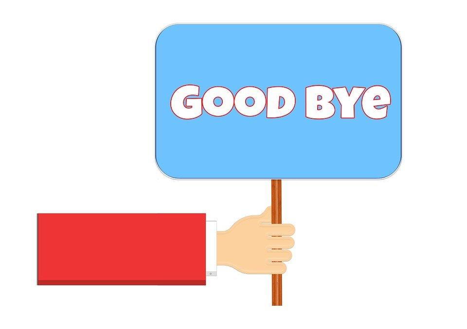 Čas na rozlúčku. A nový začiatok!