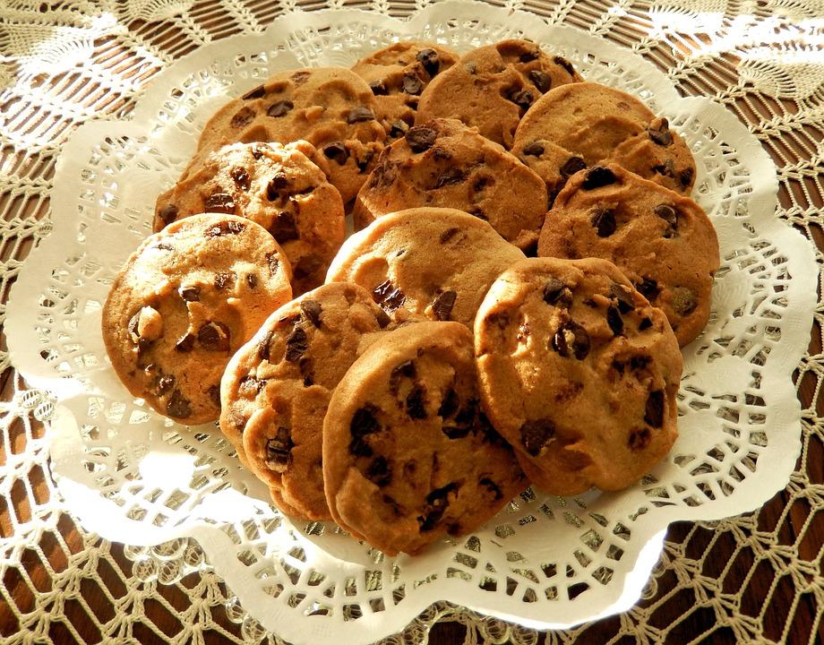 Čokoládové paleo cookies (bezlepkové)