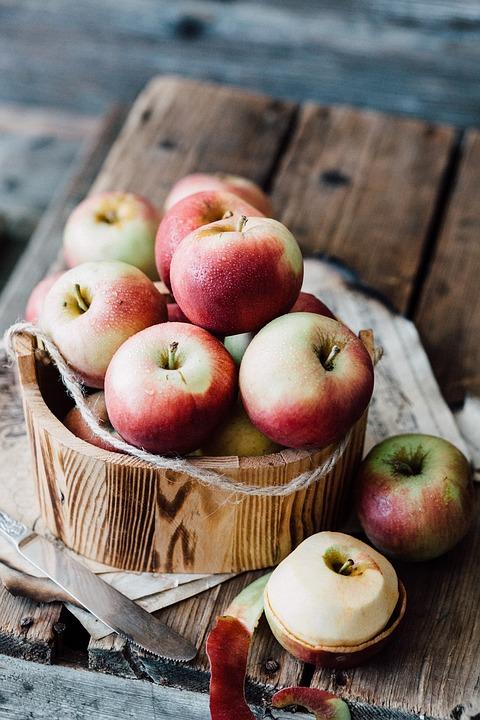Dánsky jablkový dezert