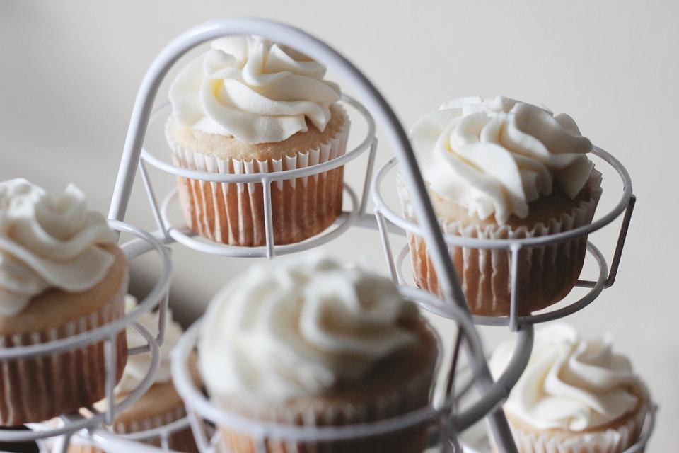 Valentínske cupcakes