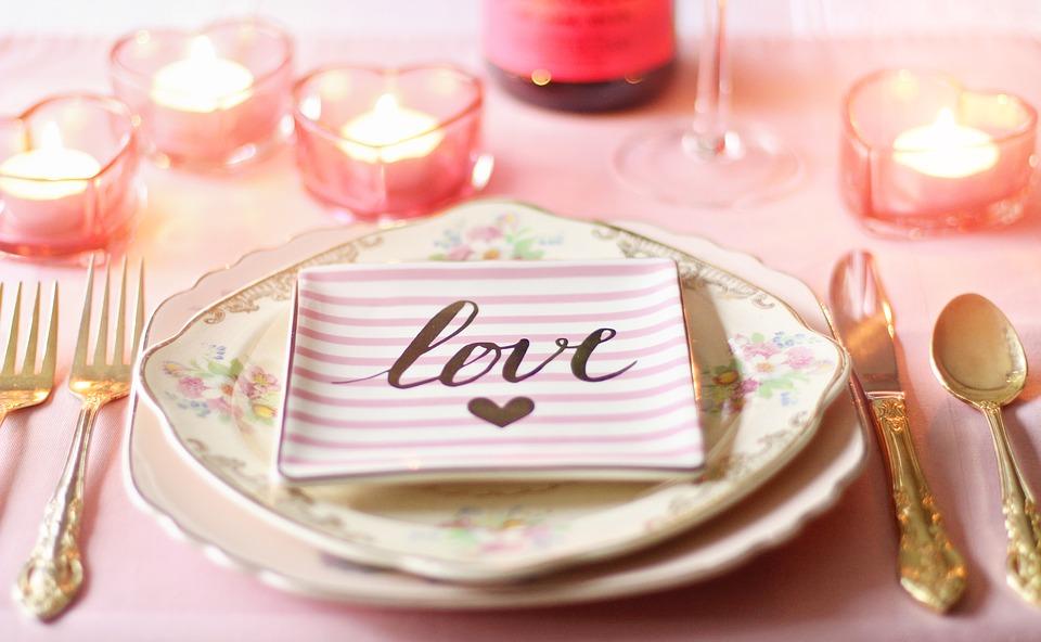 Valentínsky svietnik DIY