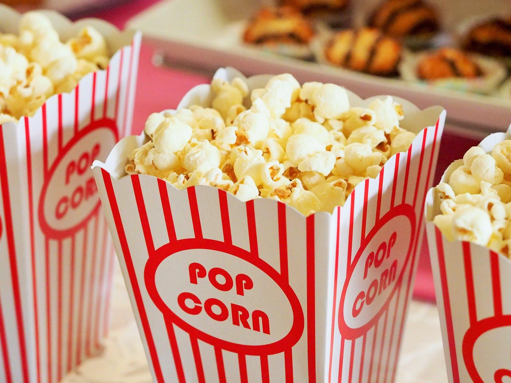 Popcorn k filmu trikrát inak