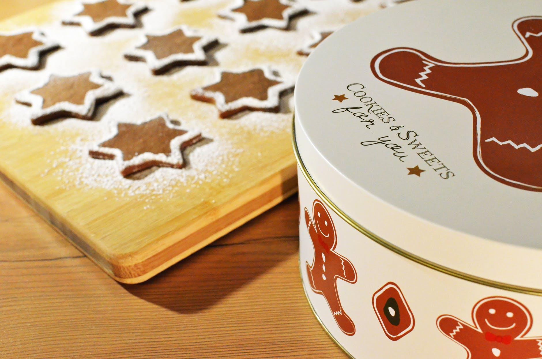 Vianočné Škandinávske koláčiky - Pepperkaker