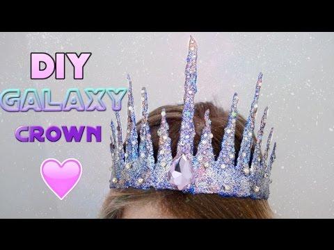 DIY: Vyrobte si svašou princeznou trblietavú korunku